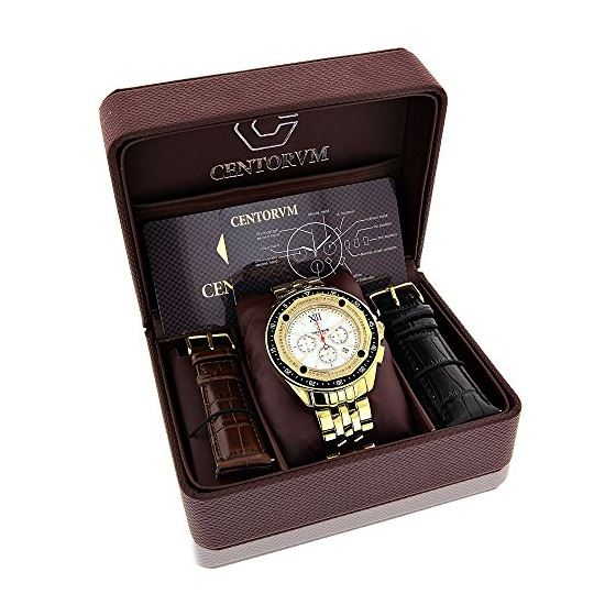 Centorum Large Falcon Mens Real Diamond  89666 4