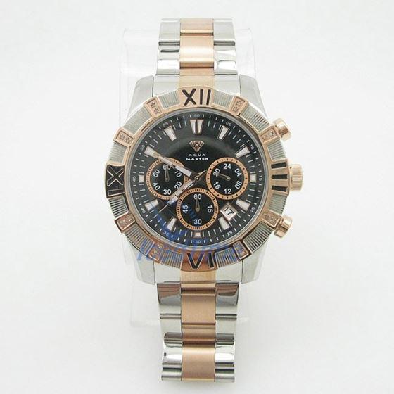 Mens Aqua Master Iced Out Diamond Watch W333AQ4 2