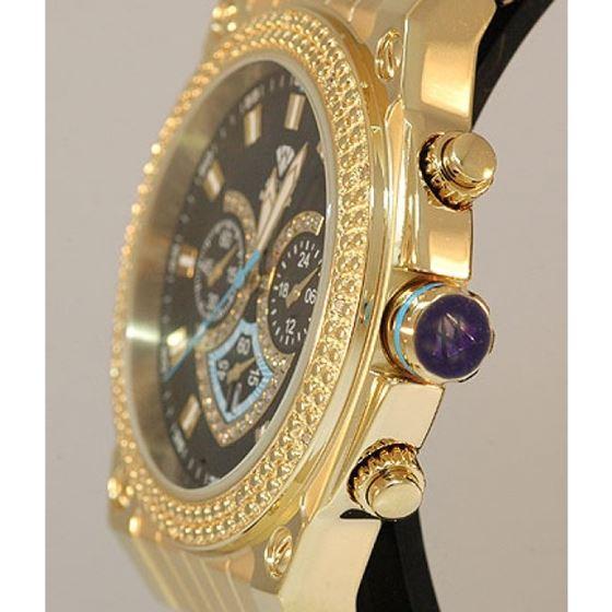 Aqua Master Mens Diamond Watch - AQSM150 54549 2