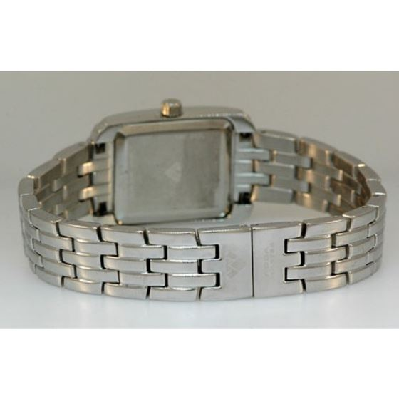 Aqua Master Swiss Classica Square 0.75 ct Diamond Womens Watch W307-WB 2