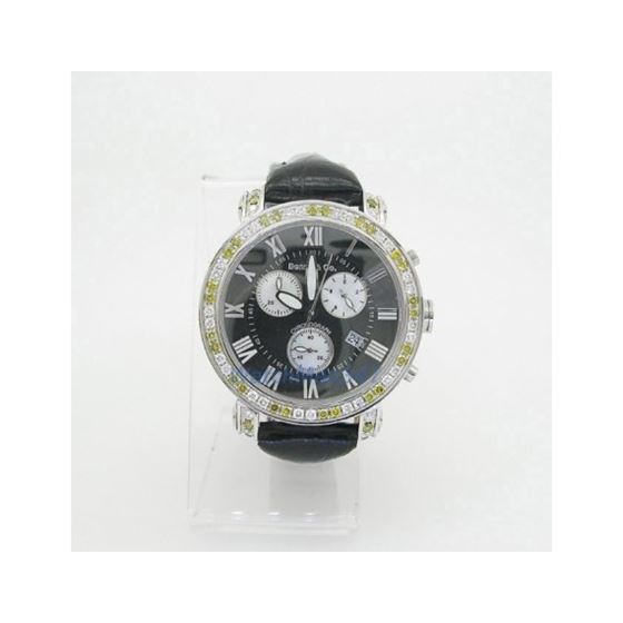 Yellow And White Benny Co Diamond Watch BNC2 2