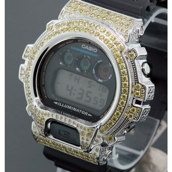 Iced Out Watches Casio G Shock Mens Digi 53067 2