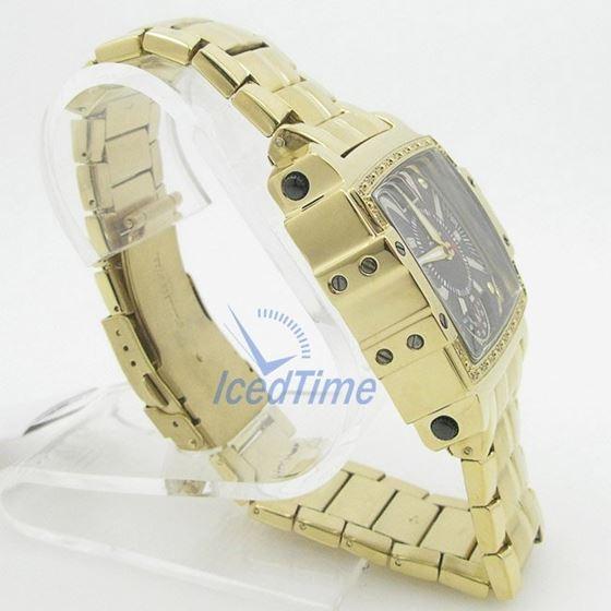 Mens Aqua Master Iced Out Diamond Watch W329AQ5 4