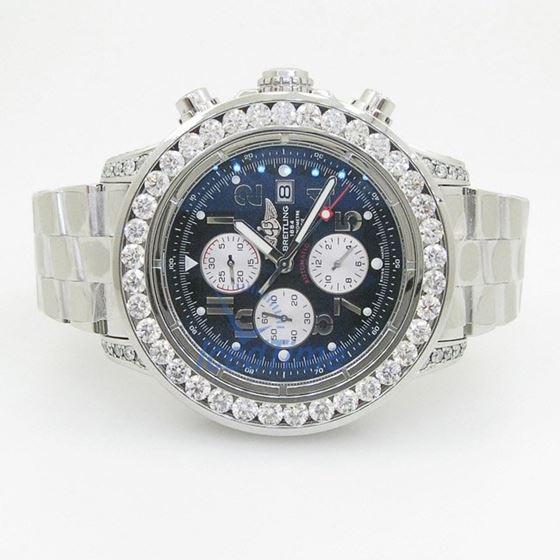 Breitling Super Avenger Chronograph Mens 55374 4