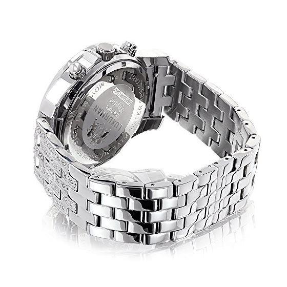 Luxurman Genuine Diamond Watch for Men 1 90391 2