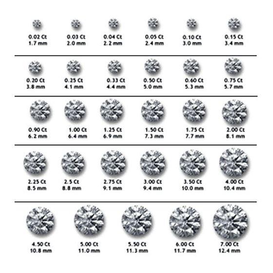 Gold Round Cut Diamond Stud Earrings 0.5 73370 2