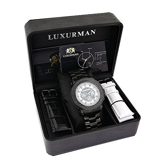 Oversized Luxurman Escalade Mens Real Bl 89804 4
