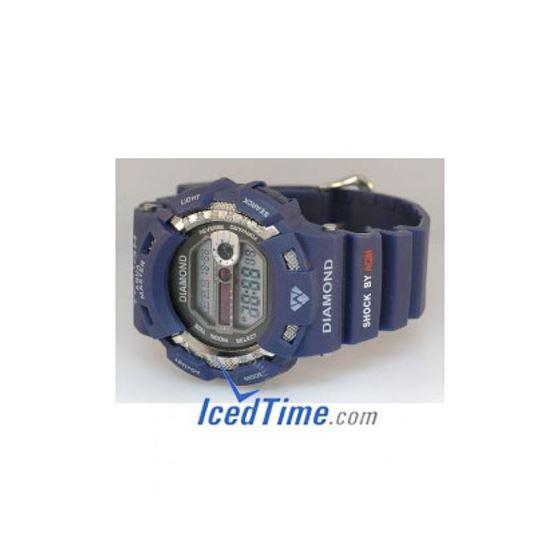 Aqua Master Shock Unisex Diamond Watch 92292 2