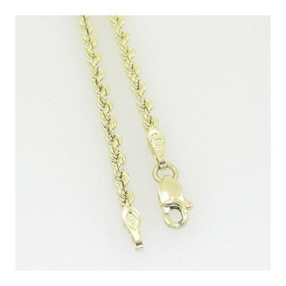 10K Yellow Gold rope chain GC5 4