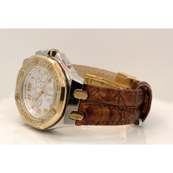 Aqua Master Royal Oak Mens Diamond Watch 1.50ctw W3251 2