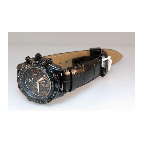 Mens Black Diamond Watch - New 2011 Model-2