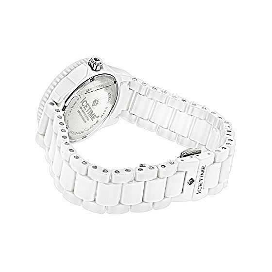 Womens Diamond Watch By Icetime Stainless Steel-2
