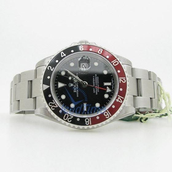 """Rolex GMT Master II Black Dial """"""""Coca Co 53970"