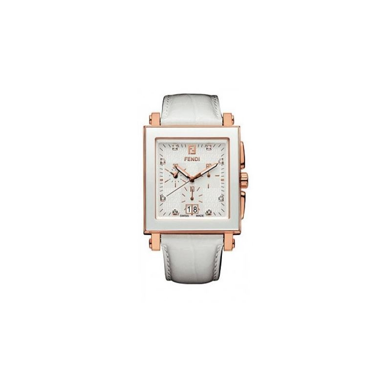 Fendi F658144D Ceramic Ladies Watch 53652 1