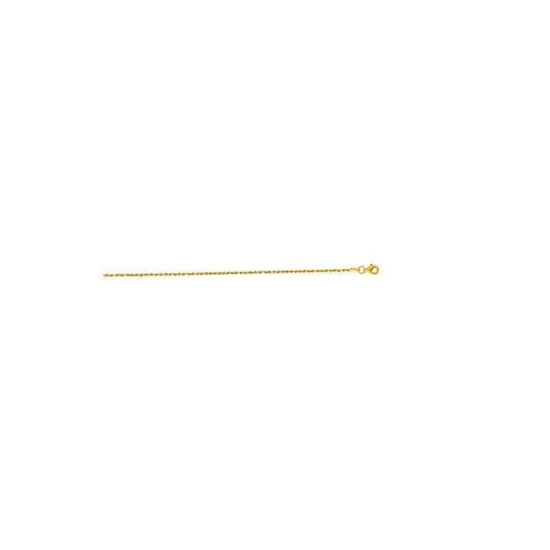 10K 24 inch long Yellow Gold 1.5mm wide  59464 1