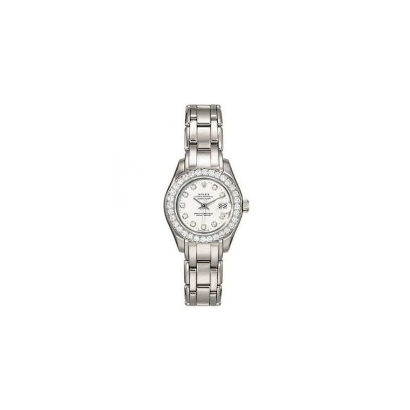 Rolex Diamond Watches: Rolex Pearlmaster 53773 1