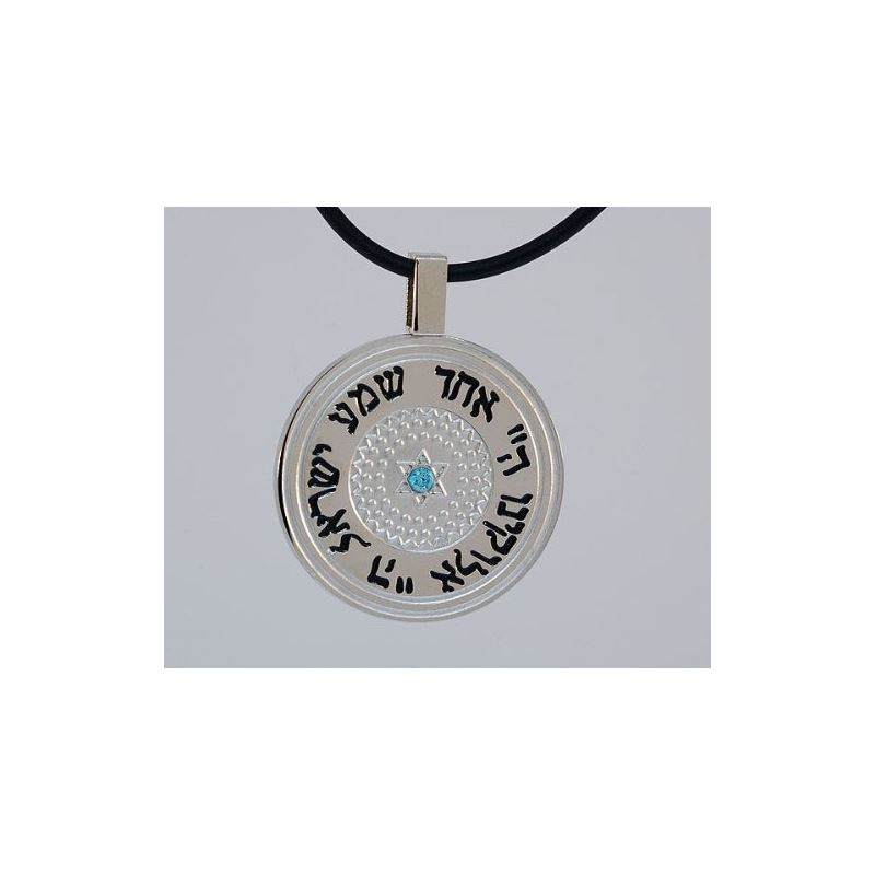 Stainless Steel Circle Pendant Written i 80173 1