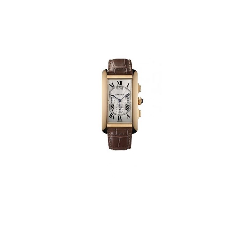 Cartier Tank Americaine Chronograph Auto 54295 1