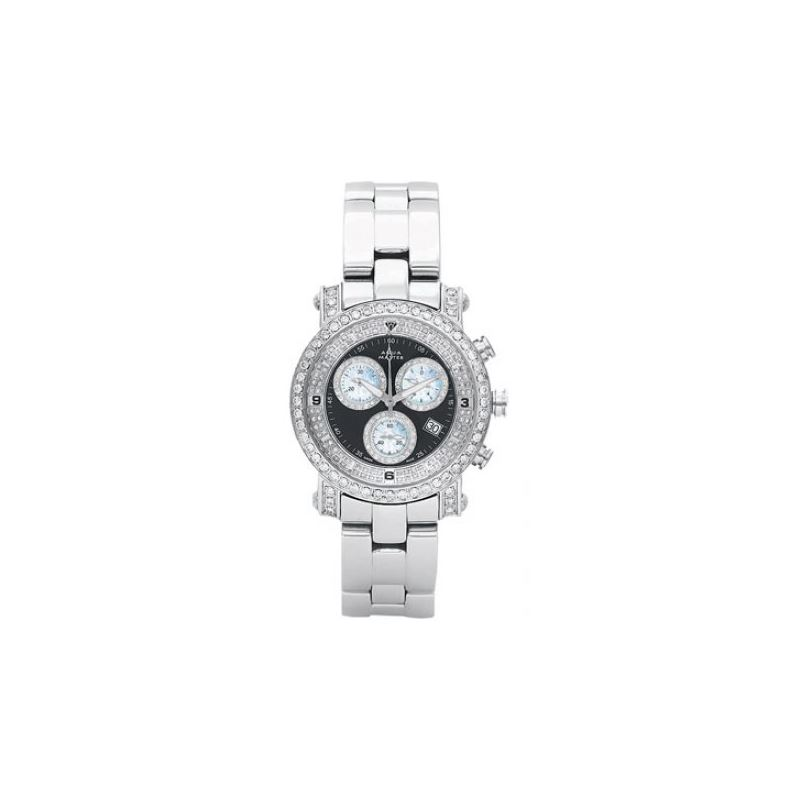 Aqua Master Mens Signature Diamond Watch 54256 1