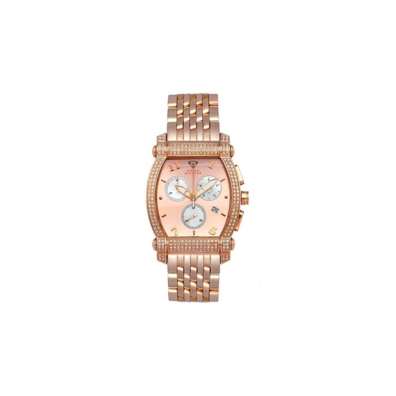 Aqua Master Diamond Watch Unisex Stainle 53444 1