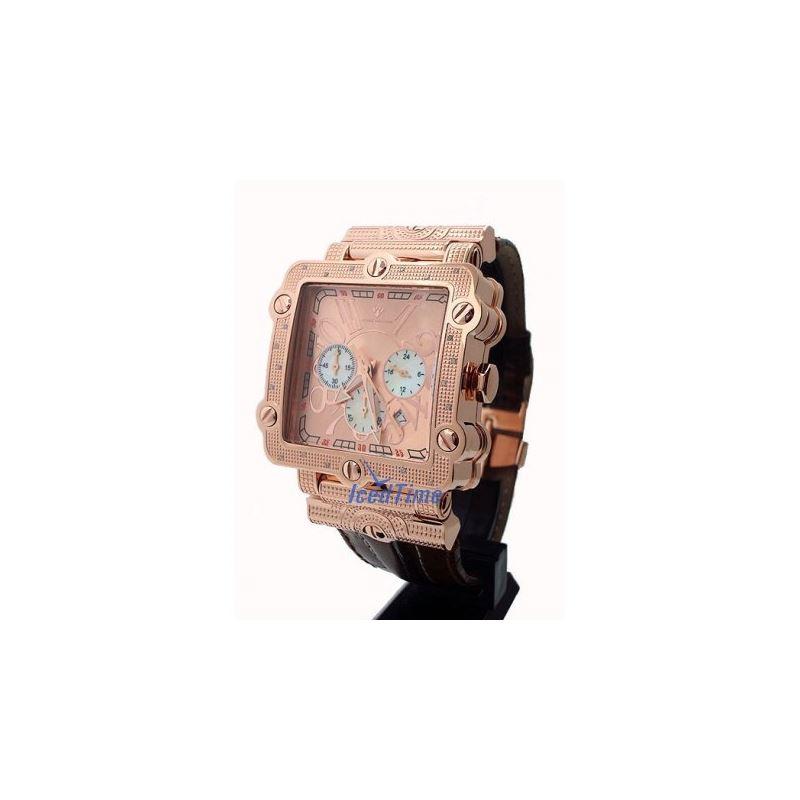Aqua Master Unisex Diamond Watch 0.20ct  53084 1