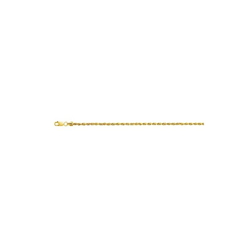 10K 18 inch long Yellow Gold 2.0mm wide  59105 1