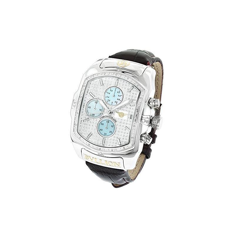 Large Watches: Luxurman Bullion Real Dia 90008 1