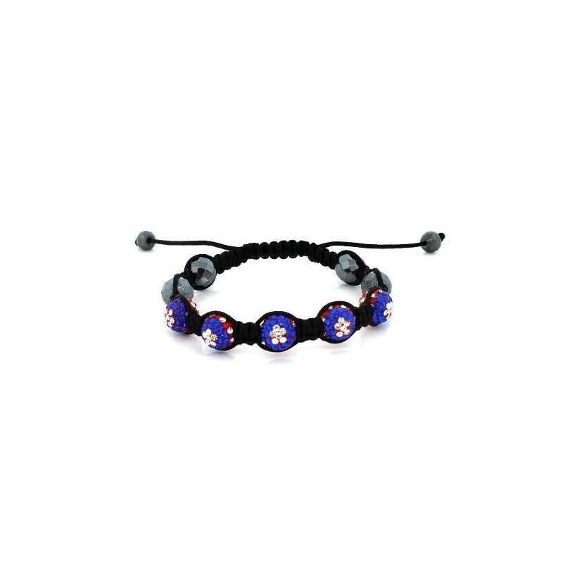 Evil Eye Multi-Color Disco Ball Bracelet 73090 1