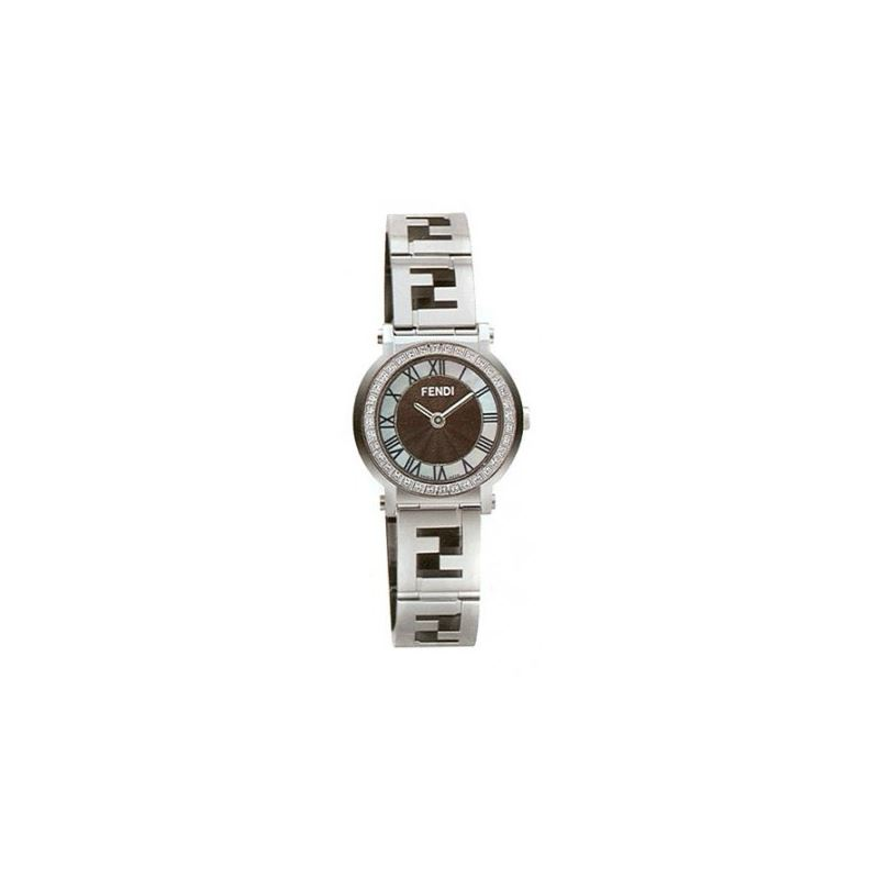 FENDI ROUND QUADRO Ladies Watch F615210D 53635 1