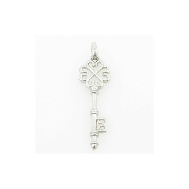 womens bp105 fancy key 14K white gold go 83810 1