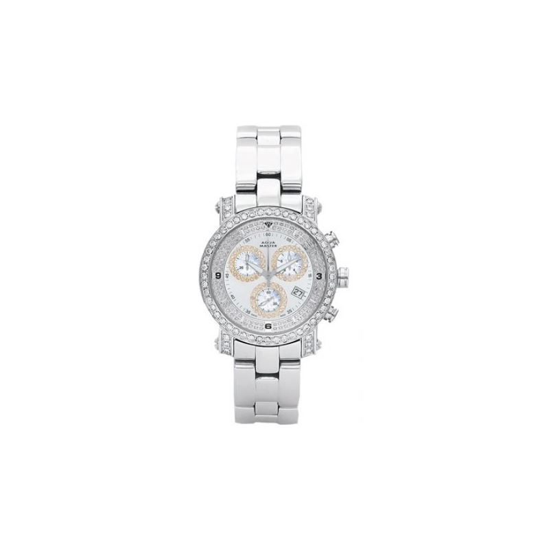 Aqua Master Mens Signature Diamond Watch 54254 1