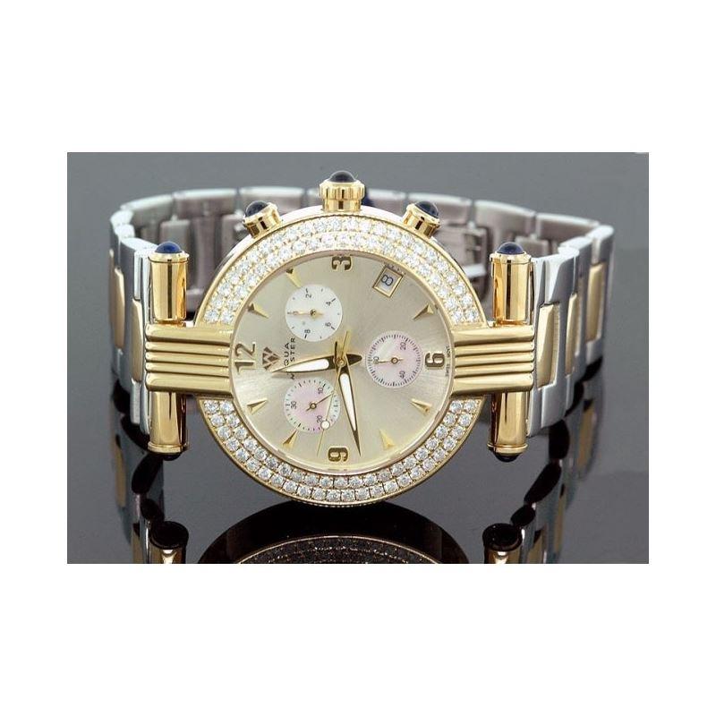 Unisex Aqua Master Diamond Watch 3.25 ct 28065 1