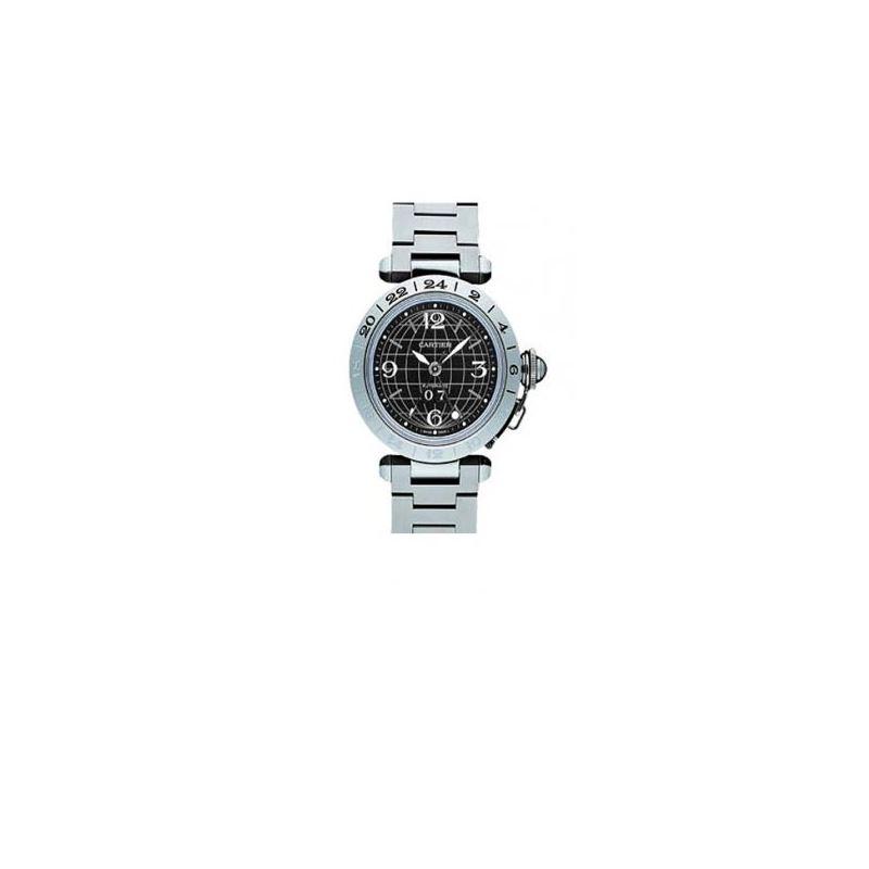 Cartier Pasha C GMT Automatic Mens Watch 55231 1