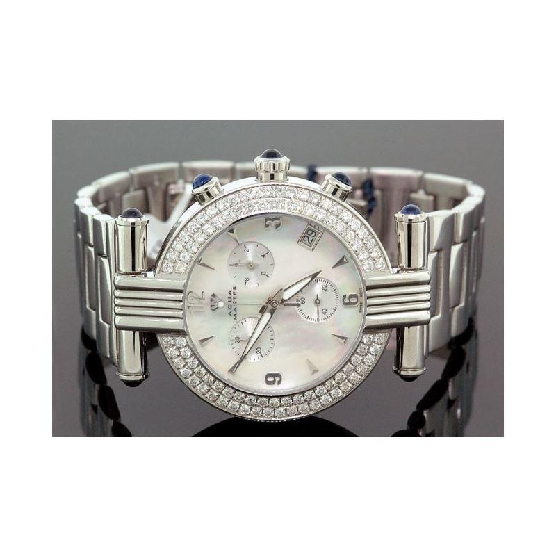 Ladies Aqua Master Diamond Watch 2.80 ct 28071 1