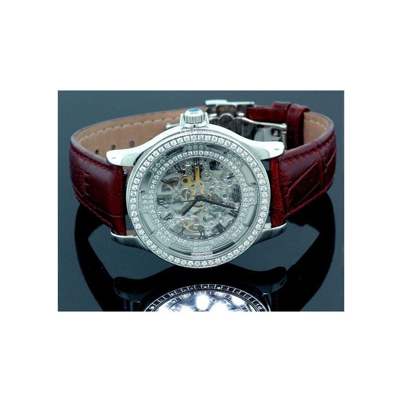 Freeze Unisex Diamond Watch with Zebra B 53272 1