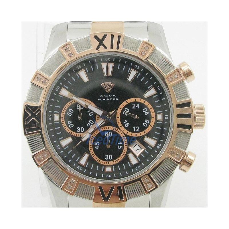 Mens Aqua Master Iced Out Diamond Watch  50629 1