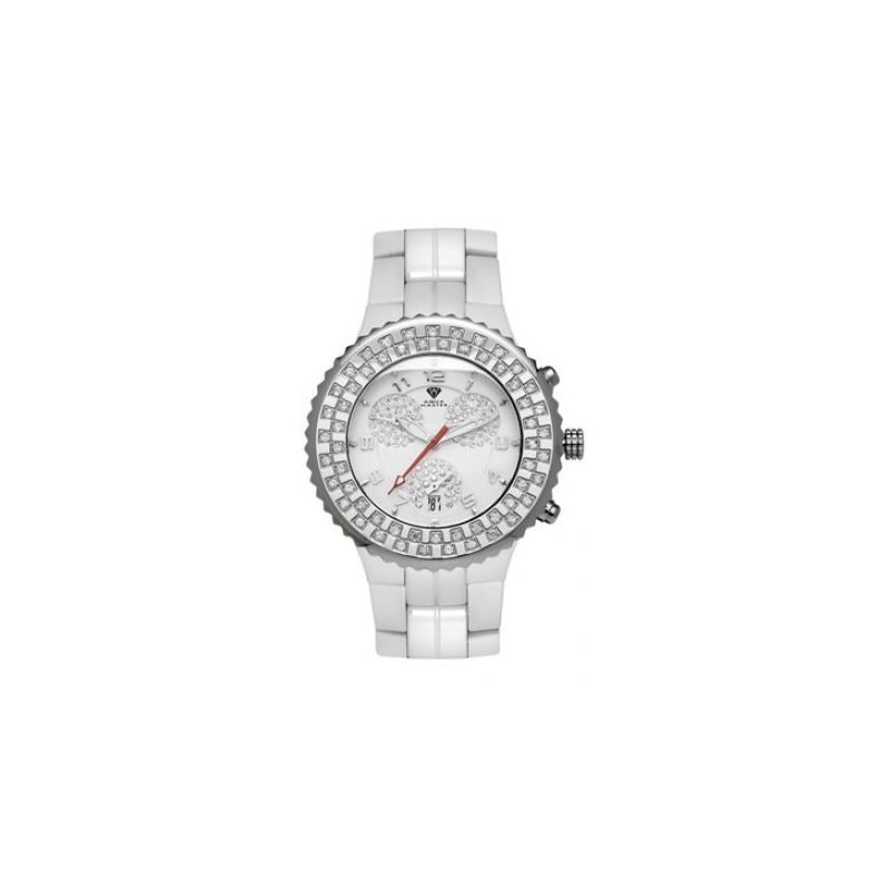 Aqua Master Unisex Ceramic Diamond Watch 53468 1