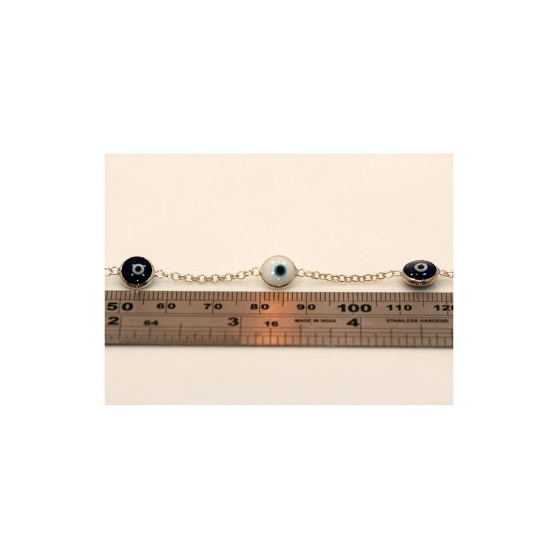 Evil Eye Murano Glass Bead Designer Ster 73094 1