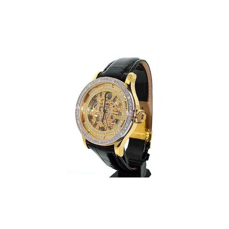 Freeze Diamond Skeleton Watch 53245 1