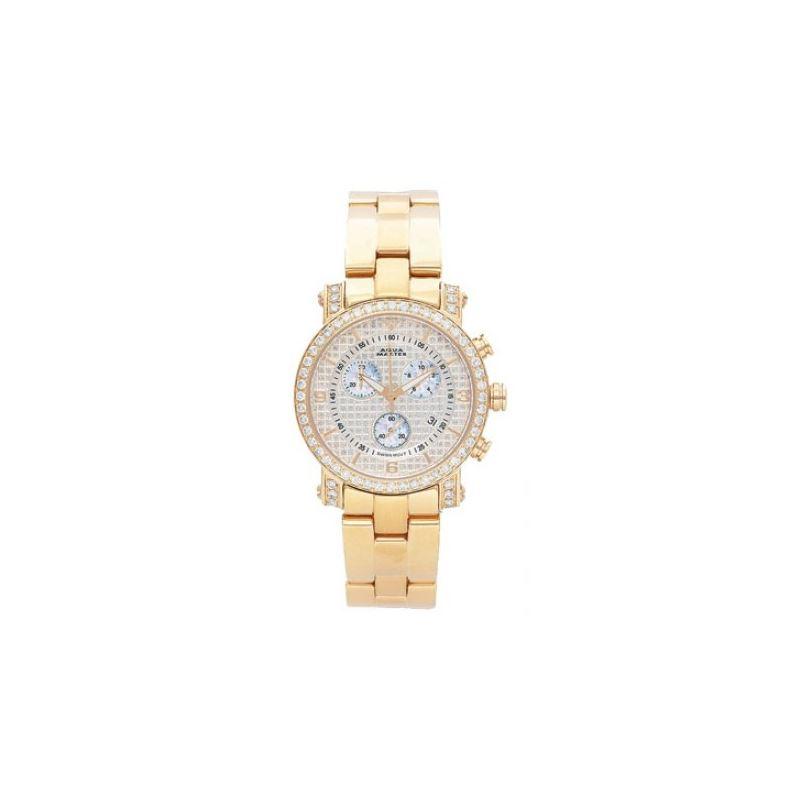 Aqua Master Diamond Watch Ladies