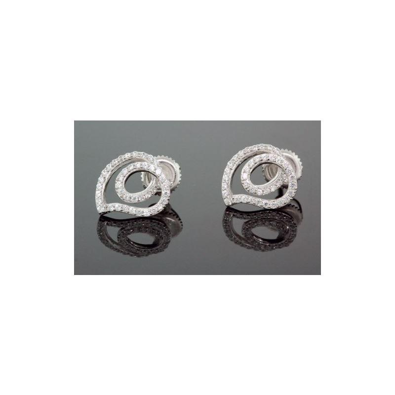 .925 Sterling Silver White Heart White C 58617 1
