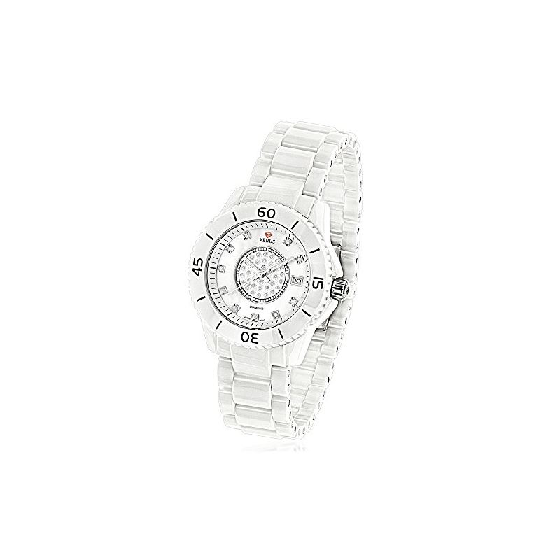 Womens Diamond Watch By Icetime Stainless Steel Wh