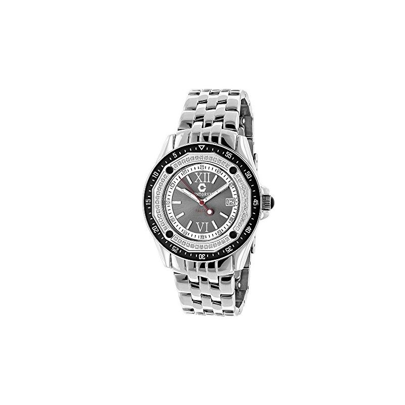 Designer Watches: Centorum Mens Real Dia 89735 1