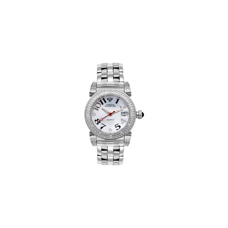 NEW! Ladies' Round 16-Diamond Watch-