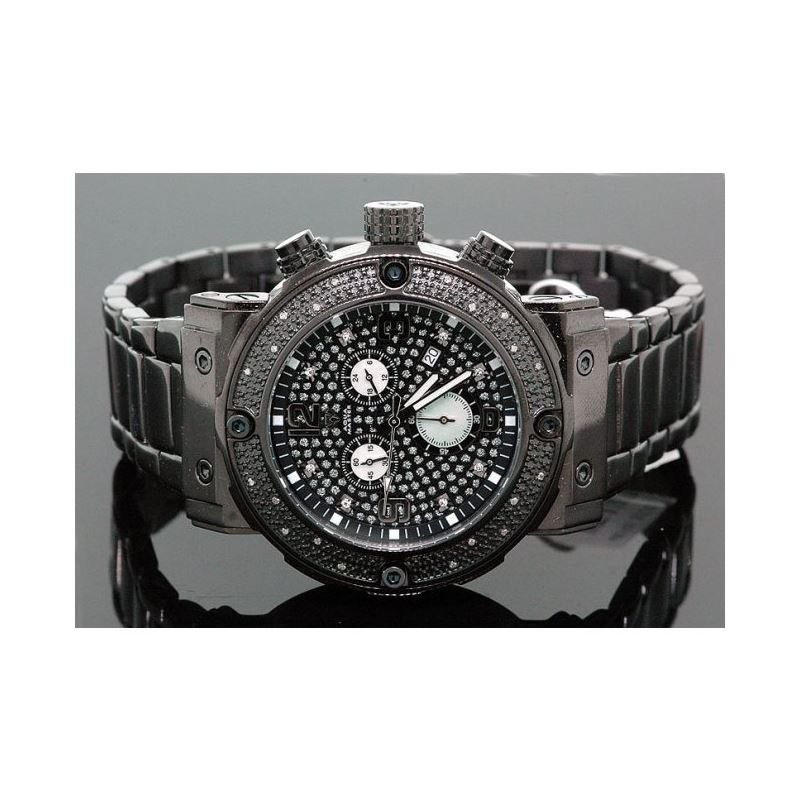 Aqua Master Mens Diamond Watch 0.20ct w- 28061 1
