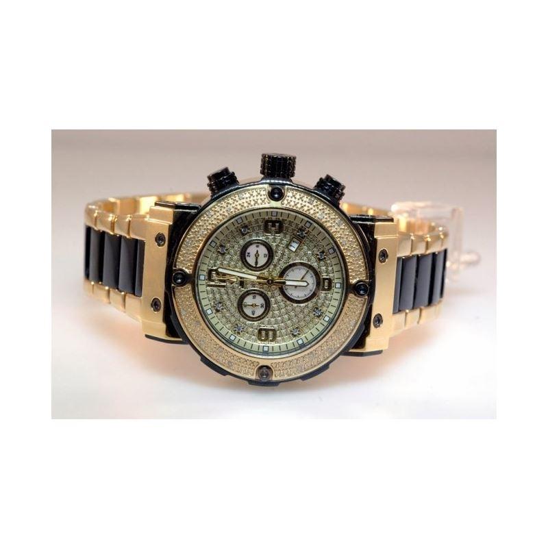 Agua Master Mens Diamond Watch W148fa 55426 1