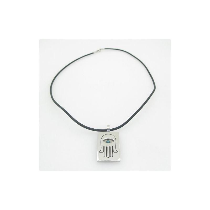 Unisex genuine leather braided crystal n 82760 1