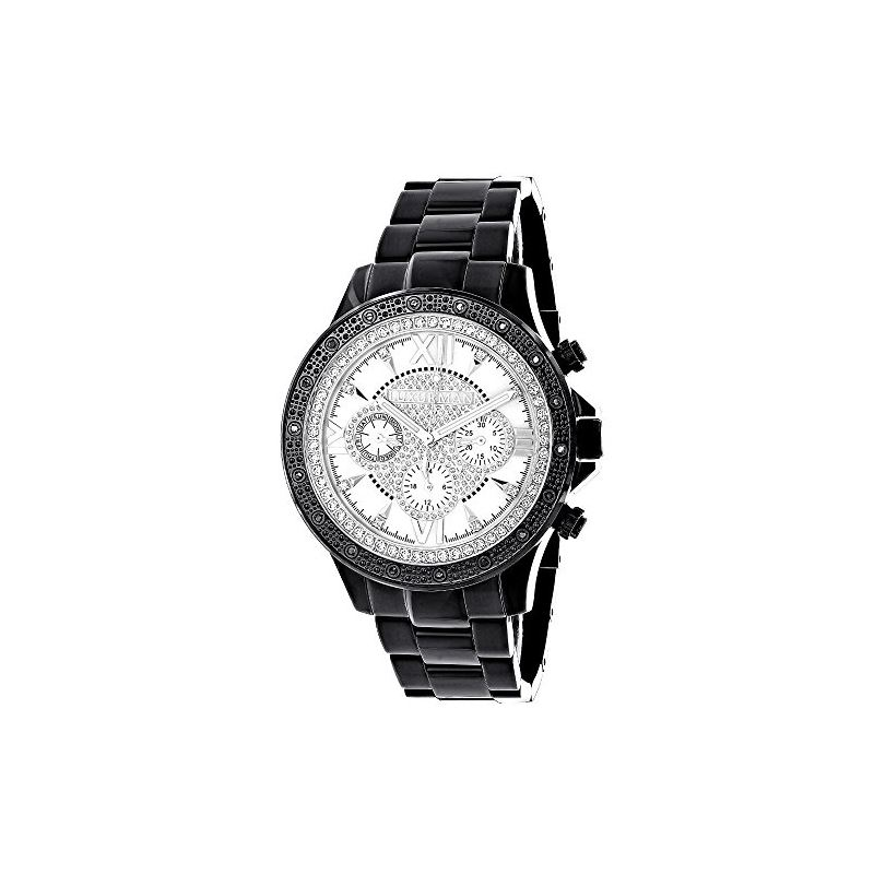 Liberty by Luxurman Mens Real Diamond Wa 90645 1
