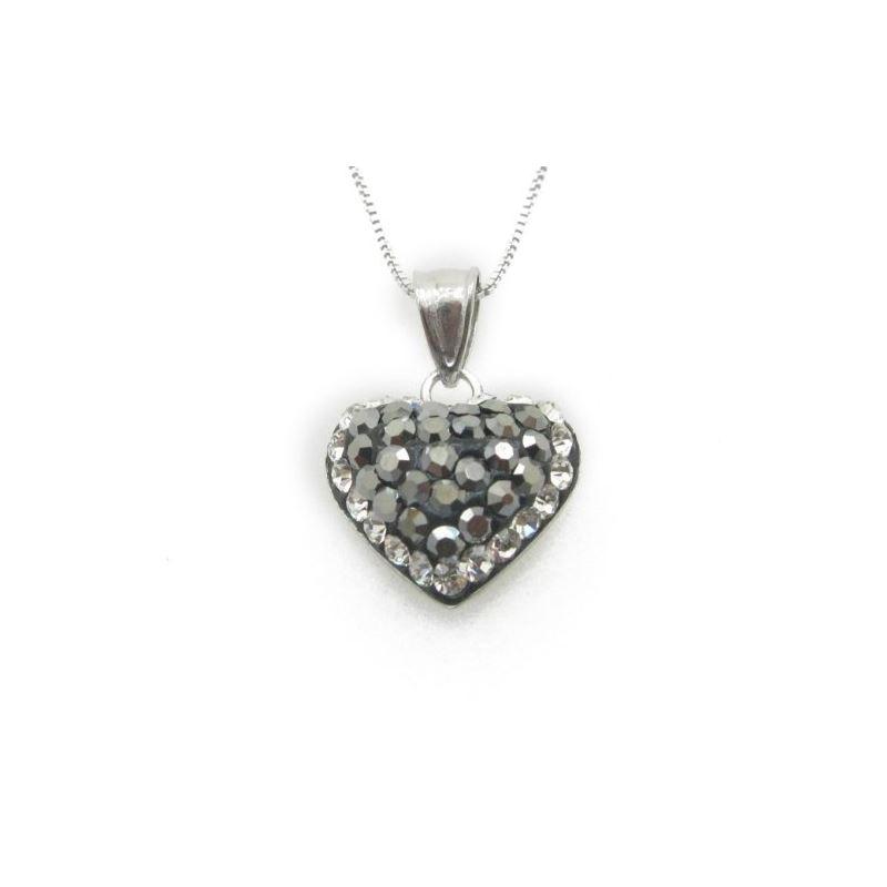 Ladies .925 Italian Sterling Silver Blac 73644 1