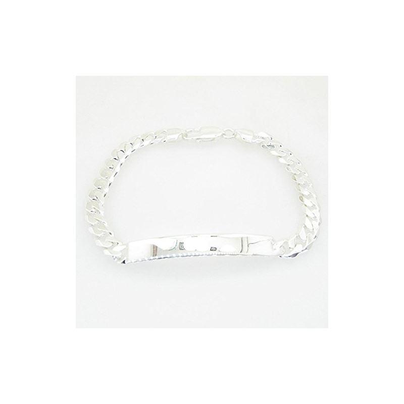 Curb Link ID Bracelet Necklace Length -  72965 1